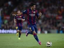 Suárez gab gegen León sein Debüt für Barcelona