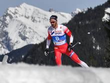 Holund entschied den 50km-Massenstart für sich
