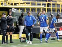 Schalke schöpft Wechselkontingent als erster Klub aus