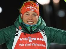 Laura Dahlmeier stellt baldige Rückkehr in Aussicht