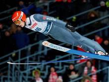 Skispringer David Siegel gab sein Wettkampf-Comeback