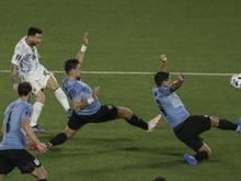 Messi brachte Argentinien in Führung