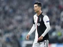 Wird gegen Atalanta Bergamo geschont: Cristiano Ronaldo