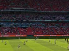 Die englischen Spieler knien erneut vor einem Spiel