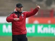 Paderborn und Trainer Steffen Baumgart bezwingen Zwickau