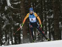 Franziska Preuß wird Vierte in Antholz