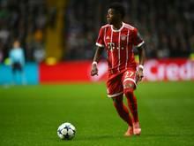 David Alaba fehlt dem FC Bayern wohl auch in Athen