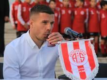 Lukas Podolski eröffnet einen nächsten Geschäftszweig