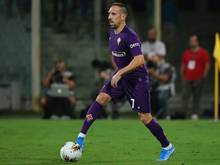 Franck Ribery traf erstmals im Trikot des AC Florenz