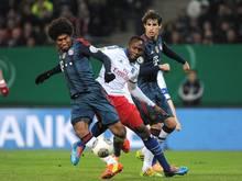 Der HSV spielt am Mittwochabend gegen die Bayern