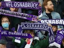 Der VfL Osnabrück lässt 4800 Zuschauer im Stadion zu