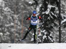 Erik Lesser landet beim IBU-Cup auf dem zehnten Rang