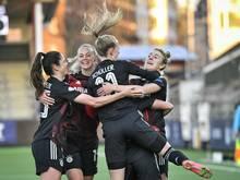 Bayern-Frauen ziehen in das Halbfinale der CL ein