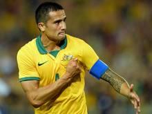Erzielte den Ausgleich für die Socceroos: Tim Cahill