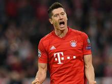 Lewandowski traf gegen Köln bereits nach drei Minuten