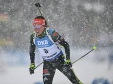 Laura Dahlmeier plant eine Trainer-Ausbildung