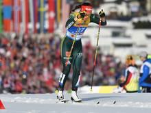 Hennig feiert ihre erste Weltcup-Podiums-Platzierung