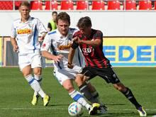 Andreas Buchner (r.) verlängert in Ingolstadt