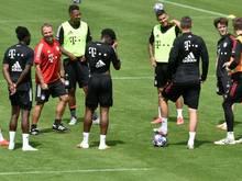 JérômeBoateng und Kingsley Coman nahmen beim FC Bayern am Training teil