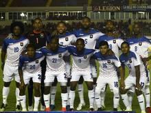 Spieler aus Belize wurden von von Aufständigen gestoppt