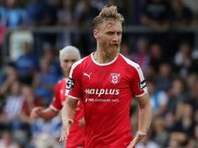 Björn Jopek erzielt in 72. Minute das 2:0