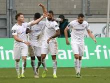 Hansa Rostock durfte einen 2:1-Erfolg bejubeln