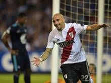 Machte zwei Länderspiele für Argentinien: River-Verteidiger Javier Pinola
