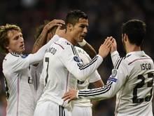 Real Madrid darf den vorzeitigen Einzug ins Achtelfinale feiern
