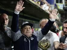 Maradonas Team entging dem Abstieg