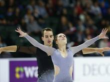 Silber für Annika Hocke und Ruben Blommaert im Paarlauf