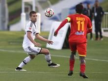Nastasic (l.) spielt zum ersten Mal für Schalke