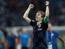 Luka Modric will eine Medaille