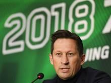 Roger Schmidt war von 2014 bis 2017 Trainer der Werkself