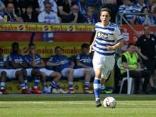 Wechselt von Duisburg nach Darmstadt: Mittelfeldspieler Fabian Schnellhardt