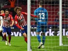 Atlético Madrid gewann mit 3:2 gegen den FC Valencia