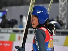 Carina Vogt gibt am Wochenende ihr Comeback
