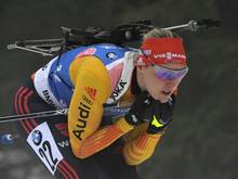 Denise Herrmann verpasste eine Medaille