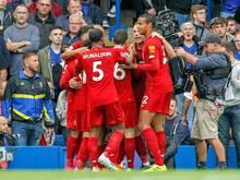 Liverpool besiegte Chelsea im Topspiel mit 2:1