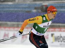 Eric Frenzel landet in Kuusamo auf dem Podest