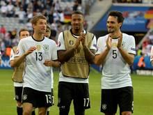 Fans bedanken sich bei Müller, Boateng und Hummels