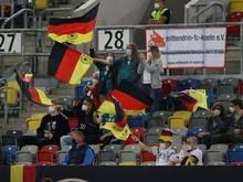 Bis zu 1000 Zuschauer gegen Chile erlaubt