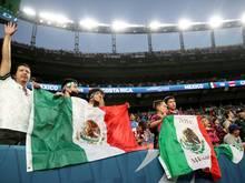 Im Stadion kam es bei Mexikos Sieg zum Eklat