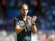 Rüdiger Rehm ist seit 2017 Trainer von Wehen Wiesbaden