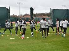 Auch Liverpool befindet sich im Mannschaftstraining