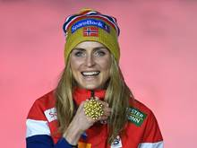 Gewann viermal Gold: Therese Johaug