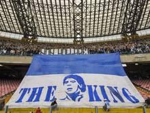 Diego Maradona spielte von 1984 bis 1991 für Neapel