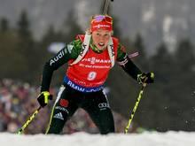 Laura Dahlmeier belegt im IBU-Cup den zweiten Platz
