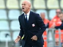 Der FC Carpi feuerte mit Giuseppe Sannino schon den zweiten Coach