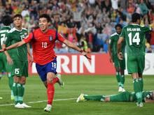 Südkorea steht im Finale des Asien-Cup