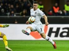 Mit Einsatzgarantie gegen Deutschland: Luka Jovic
